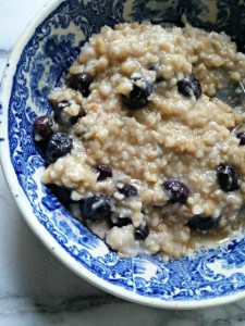 steel cut oatmeal overnight in crock pot