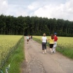 We Continue the Rural Belgium Theme at the Gite and Add Some Family