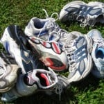 Recycling Running Shoes