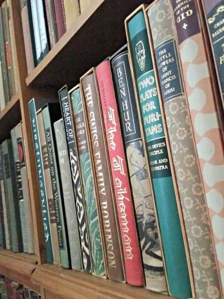 Books on Bookshelf - Ready Set Read