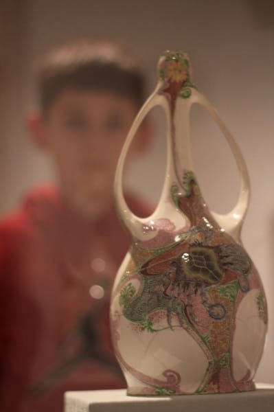 ArtMuseum-Boy Contemplates Vase