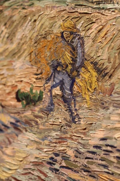 ArtMuseum-Van Gogh Sheaves Detail