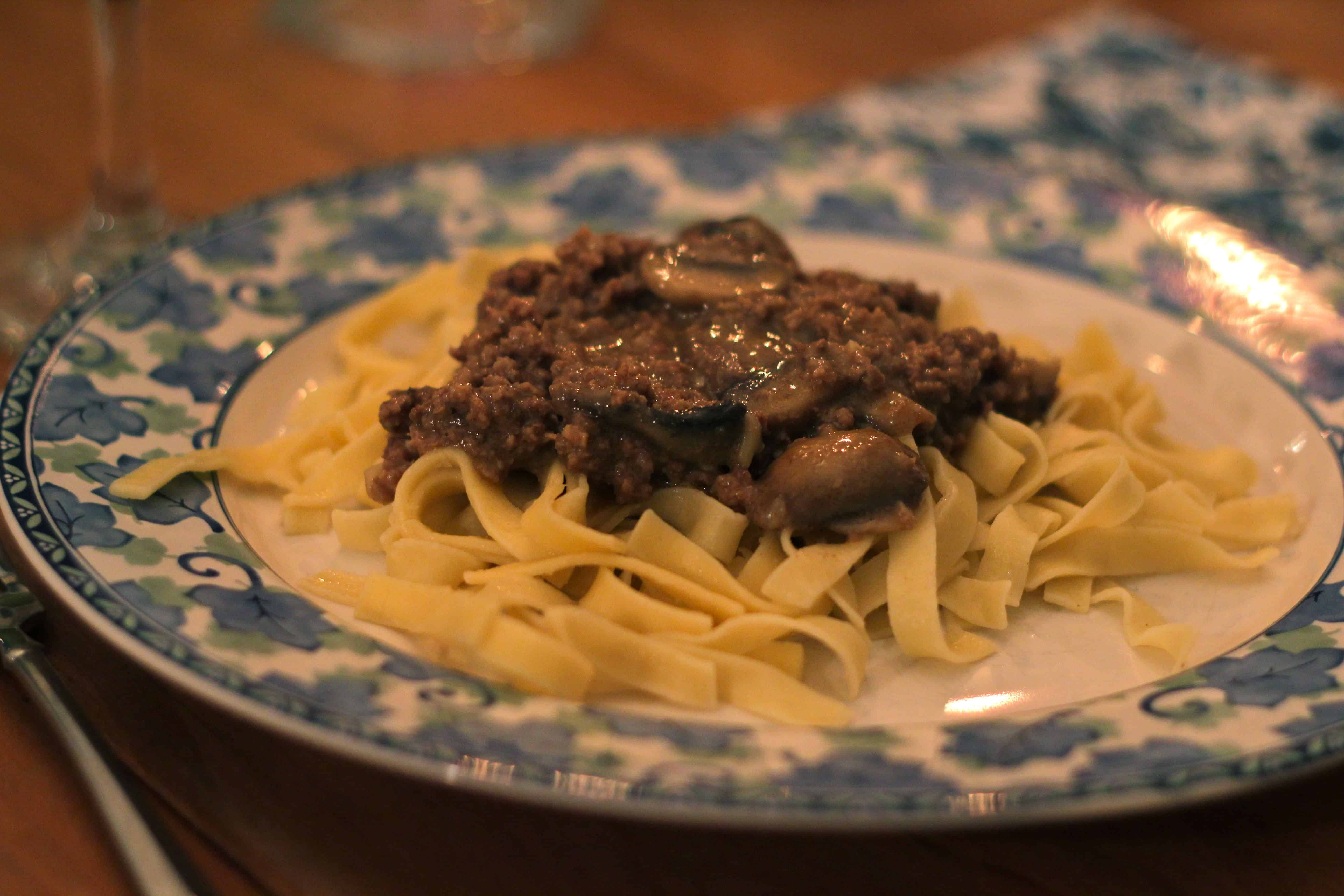 Food on Fridays: Easy Beef Stroganoff