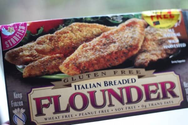 Food on fridays starfish brand breaded flounder gluten for Gluten free fish breading