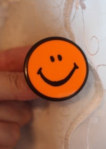 vintage smiley face