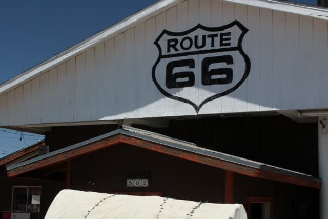 Winslow Route 66 building