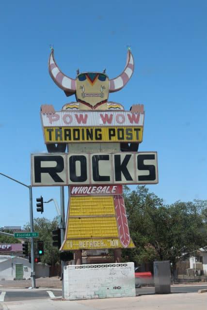 Winslow Trading Post Rocks