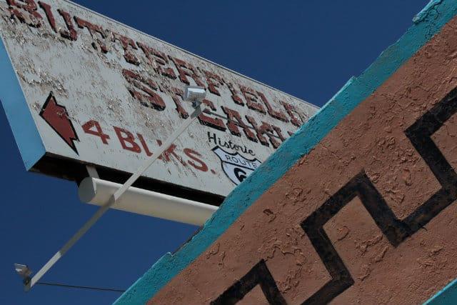 Winslow signage
