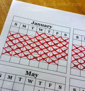 Seinfeld Calendar January