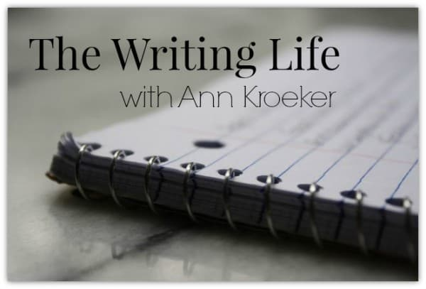The Writing Life with Ann Kroeker logo