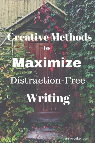 Write in the Middle: Yes, You Can Maximize Distraction-Free Writing - Ann Kroeker, Writing Coach