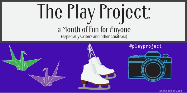 The Play Project - A Month of Fun for Anyone - Twitter sized