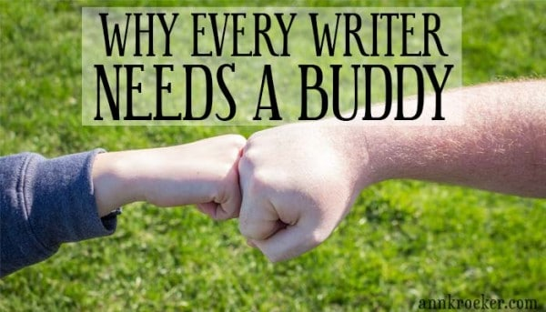 Why Every Writer Needs a Buddy