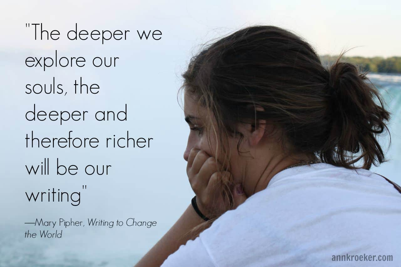 The deeper we explore our souls - Mary Pipher