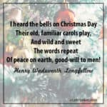 Longfellow: I heard the bells on Christmas Day