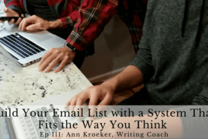 Ep 111: Build Your Email List with a System That Fits the Way You Think