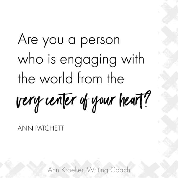 Are you a person who is engaging with the world from the very center of your heart 600x600 - Back to Basics: Generate Ideas to Find What You Have to Say