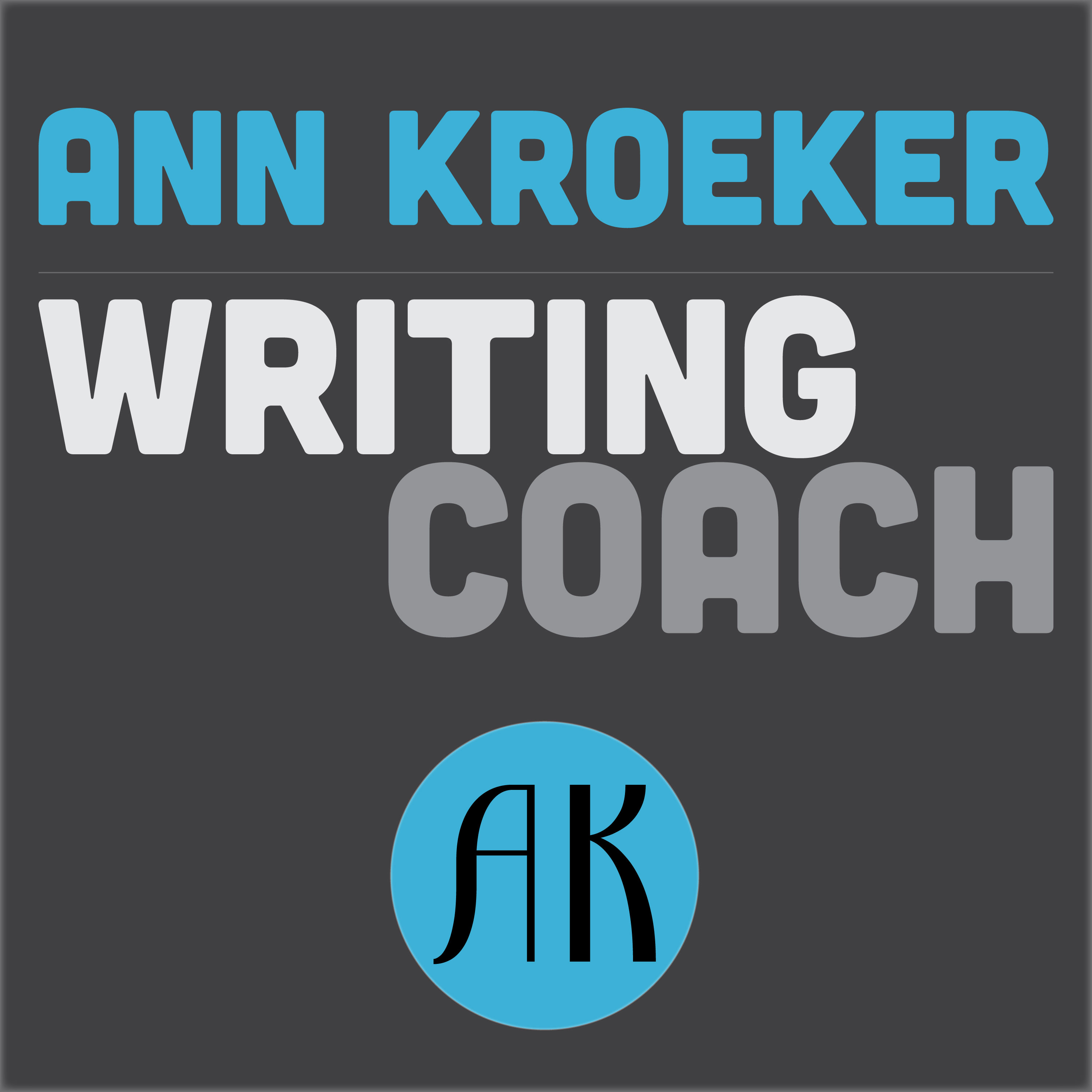 Ann Kroeker, Writing Coach